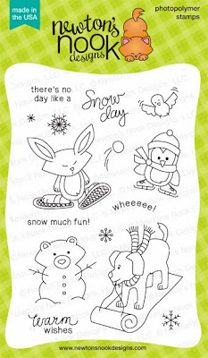 Snow Day stamp set by Newton's Nook Designs!