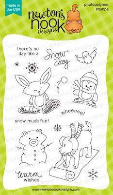 Snow Day stamp set by Newton's Nook Designs!