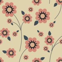 10 backgrounds estampados com flores