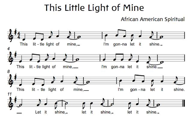this little light of mine pdf sheet music