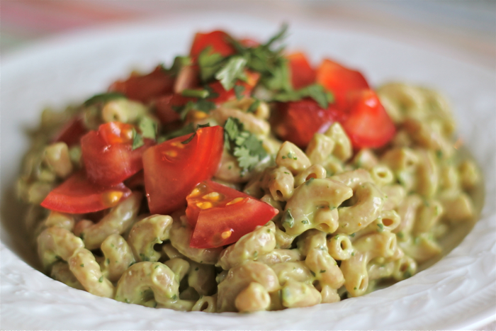 creamy avocado pasta salad avocado and pasta really oh just stop it ...