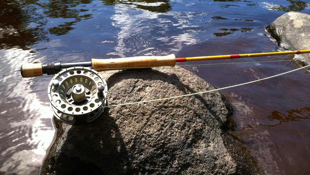 The Sage Bluegill fly rod, from Sage's Bass collection. A perfect rod for smallmouth bass.