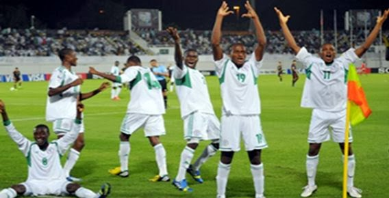 Nigeria, Champions of the FIFA U-17 World cup for a record 4th time