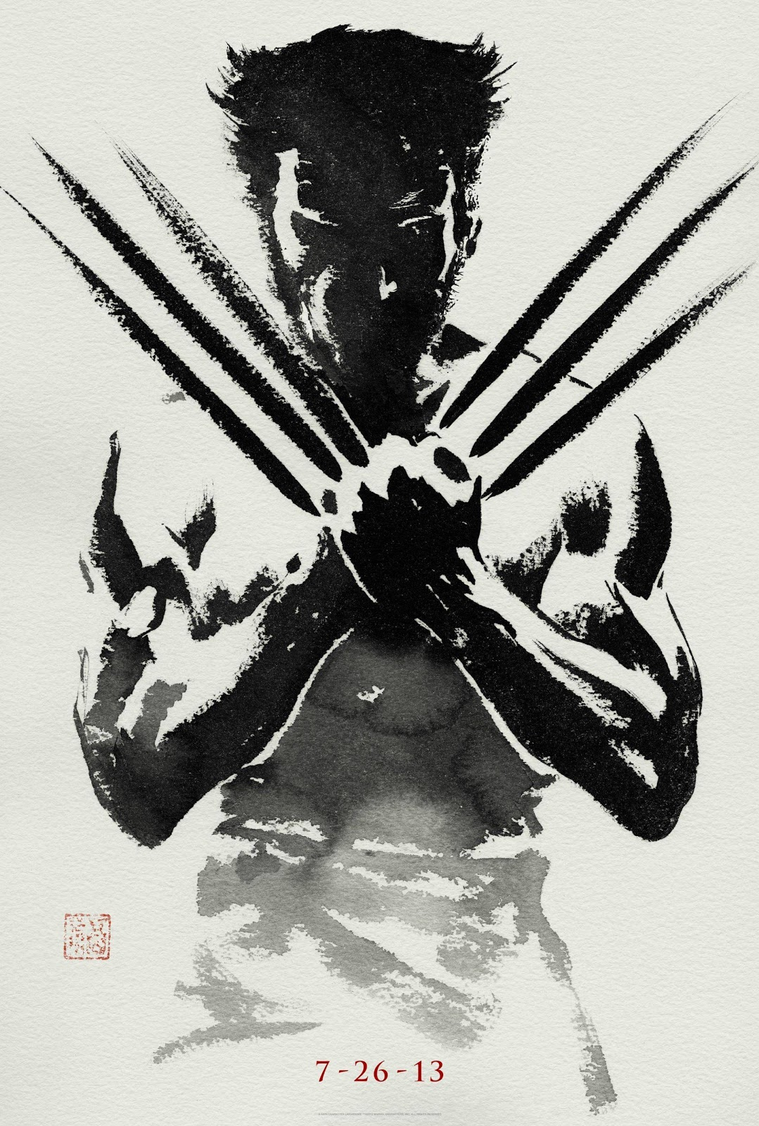 The Wolverine Teaser Poster completo
