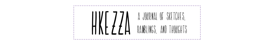 Hkezza: A sketch Journal