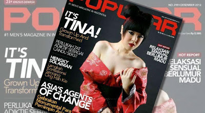 Foto Tina Toon Seksi Majalah Dewasa Popular