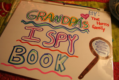 Homemade I Spy Book