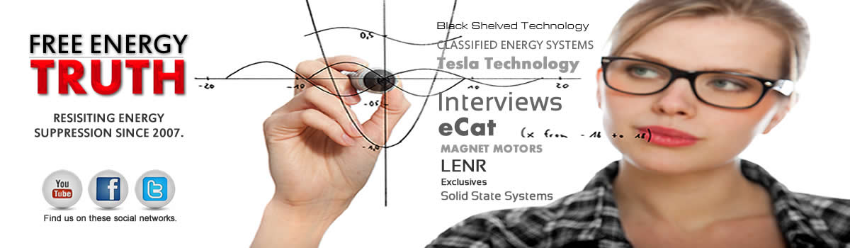 Free Energy Truth - News - Steorn - eCat - Free Energy