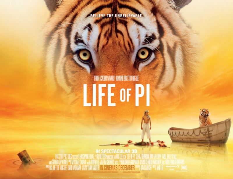 Free Is My Life Movie Review Life Of Pi