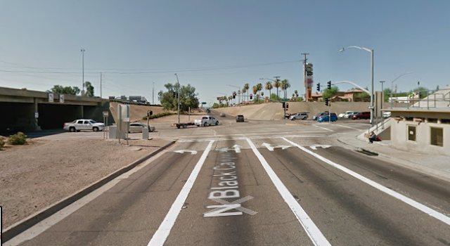 Street View of Intersection