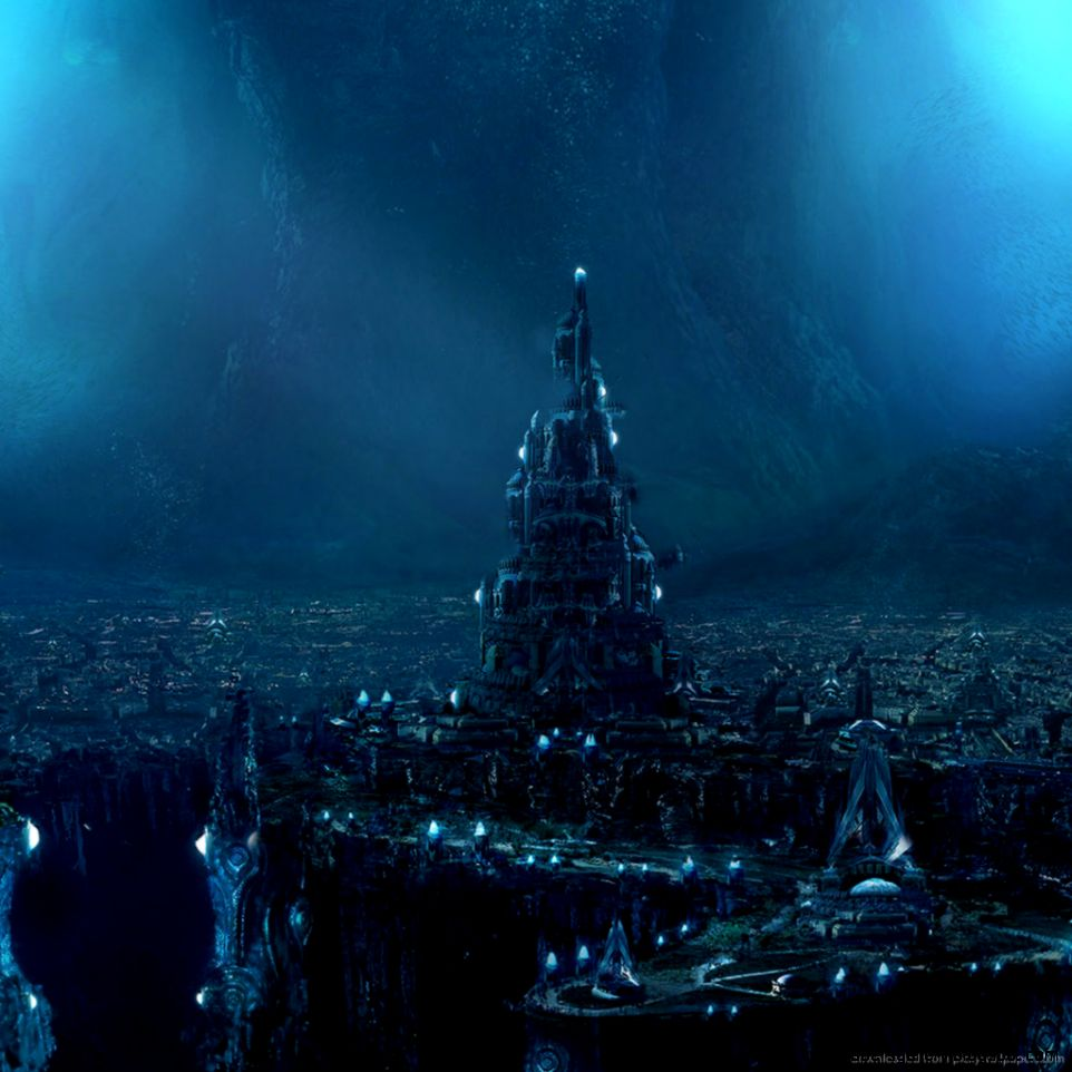 Download Great Underwater City Wallpaper For iPad