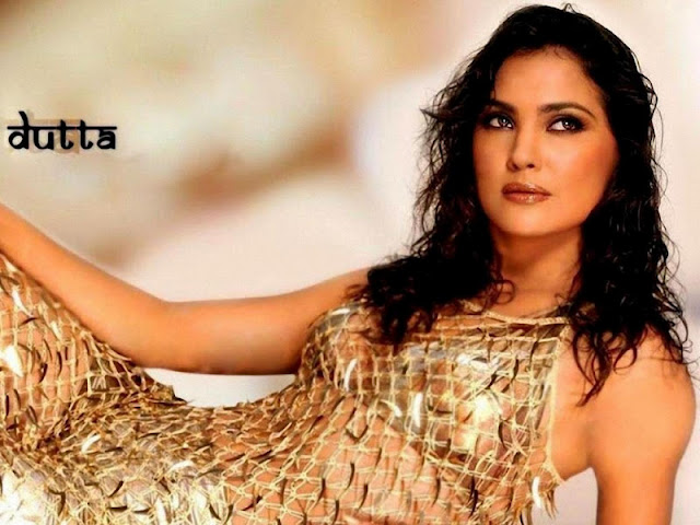 Lara Dutta sexy in dress
