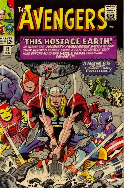 Avengers #12, Mole Man