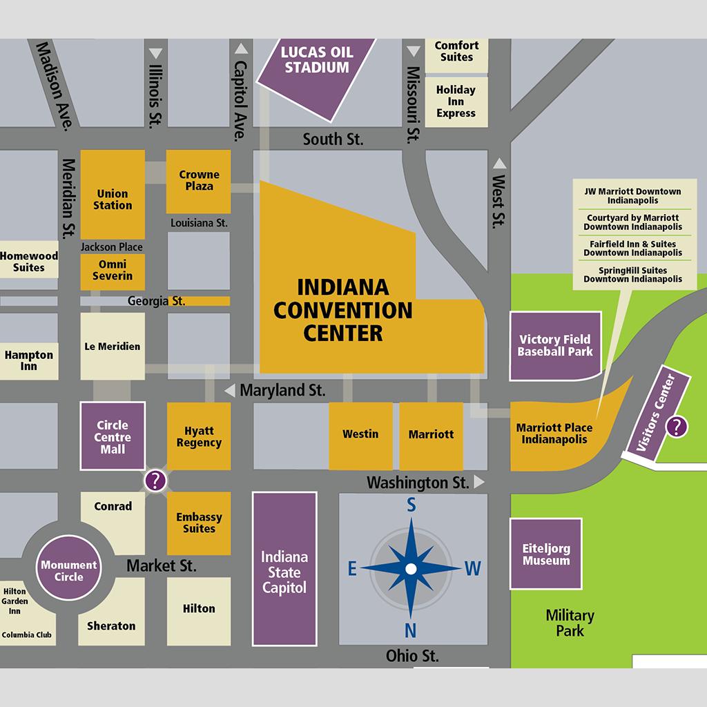 Hotels Around Indiana Convention Center