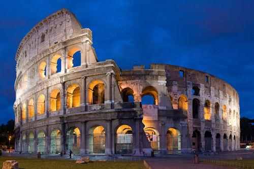 El Coliseo en Roma - Rome Coliseum