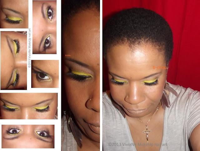Maquillage des yeux - Page 4 Jaune