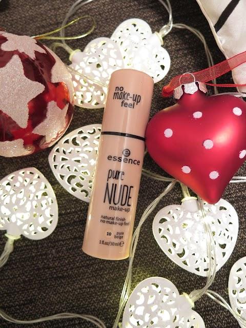Essence pure nude make up - makiažo pagrindas