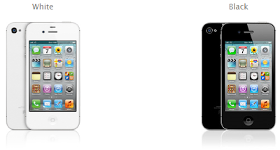 iPhone 4S Putih dan iPhone 4S Hitam