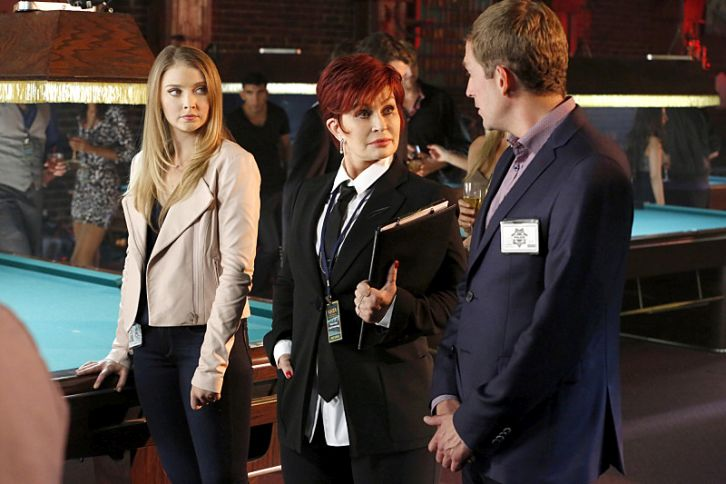 CSI: Las Vegas - Episode 15.10 - Dead Rails - Promotional Photos feat Sharon Osborne
