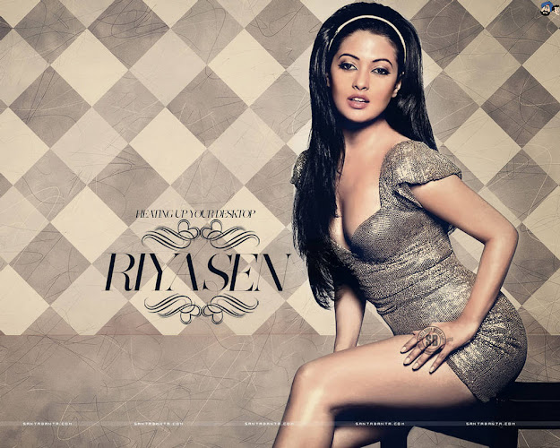Riya Sen Hot Wallpaper -  Riya Sen Hot Wallpapers 2012