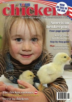 Featured in Your Chickens Magazine
