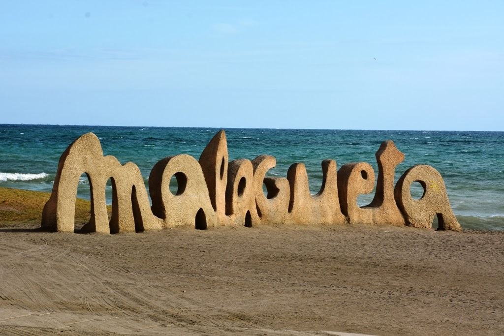 Malagueta Beach art