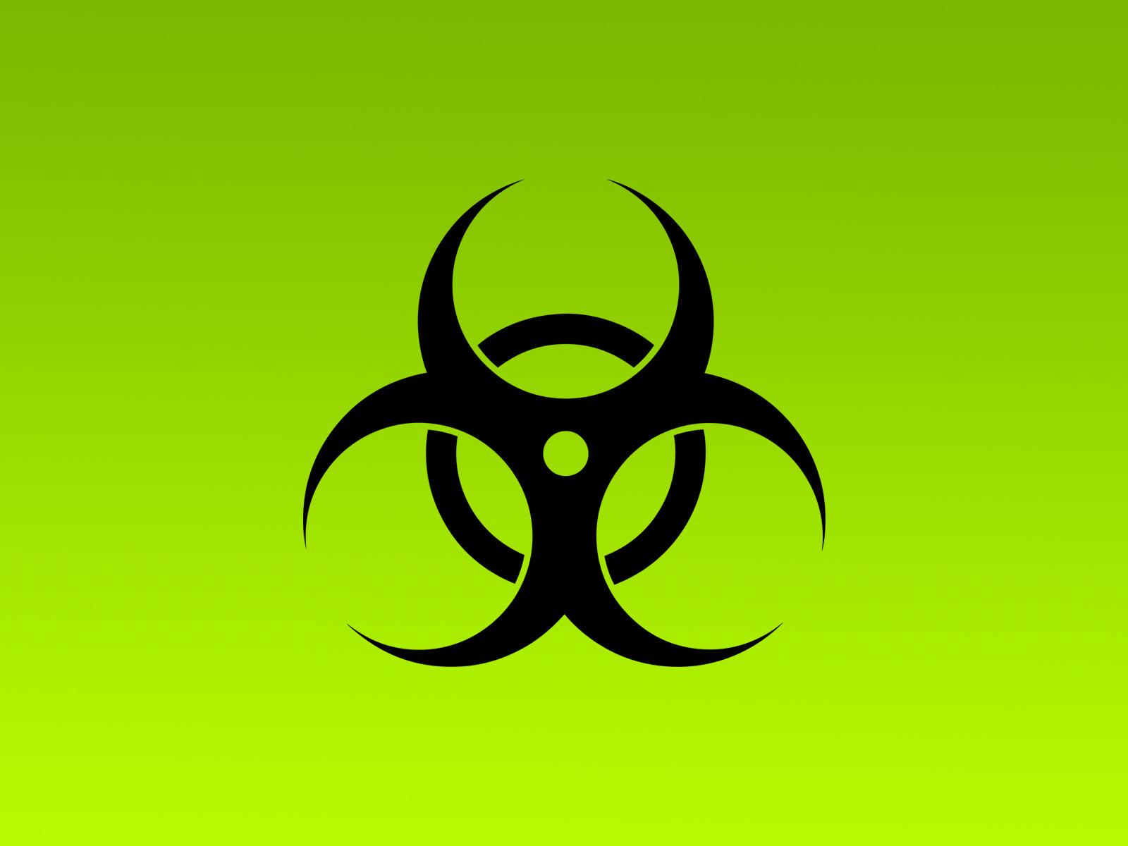 Green Bio hazard Wallpaper HD