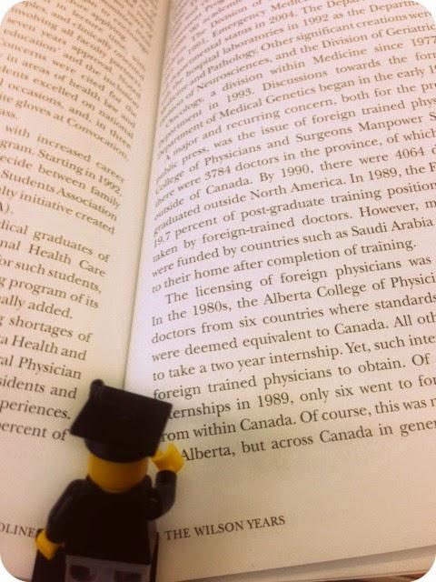Lego Grad Reading
