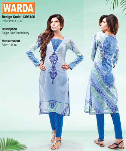 warda Lawn prints 2015 with price