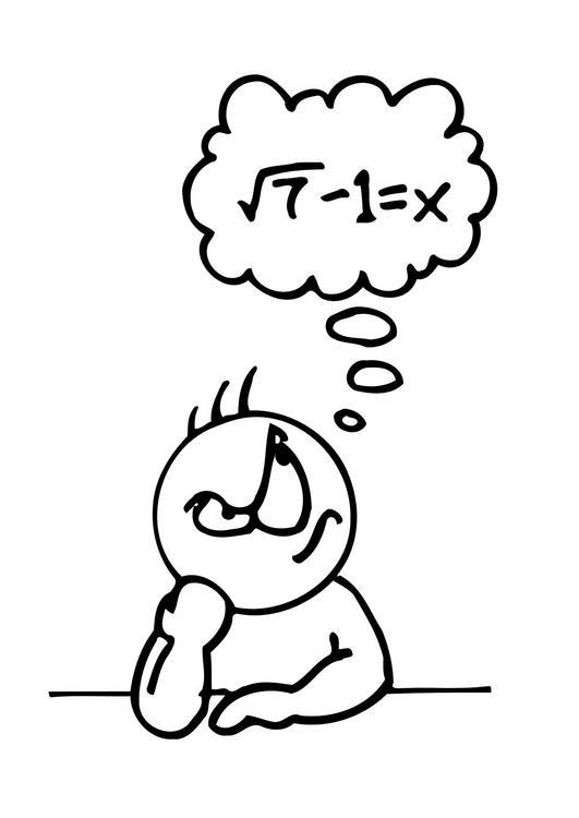 Matematicas dibujos para colorear - Imagui