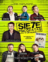 Siete psicopatas (2012) online y gratis