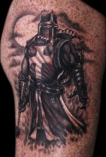 tatuagens de cavaleiro knight tattoos tattoos my. Black Bedroom Furniture Sets. Home Design Ideas