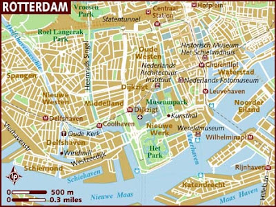Map of Rotterdam City 2