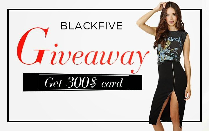 $300 gift card Giveaway on Blackfive, Fashion and Cookies