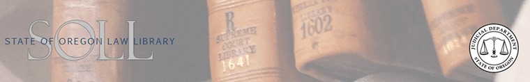 State of Oregon Law Library Blog