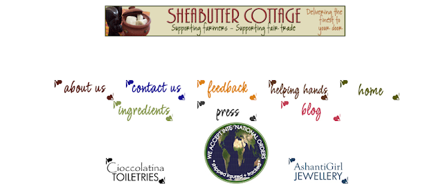 shea butter cottage website