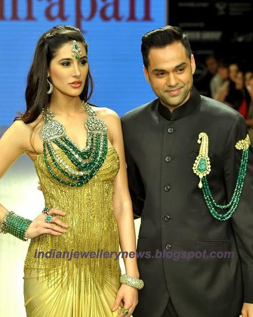 Nargis fakhri in amrapali jewellery