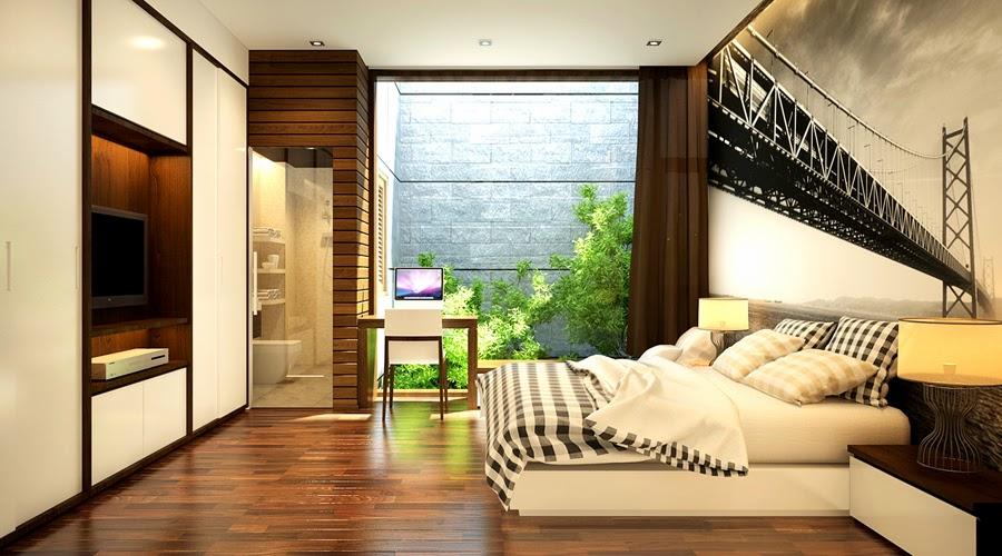 Không gian phòng ngủ đẹp hiện đại