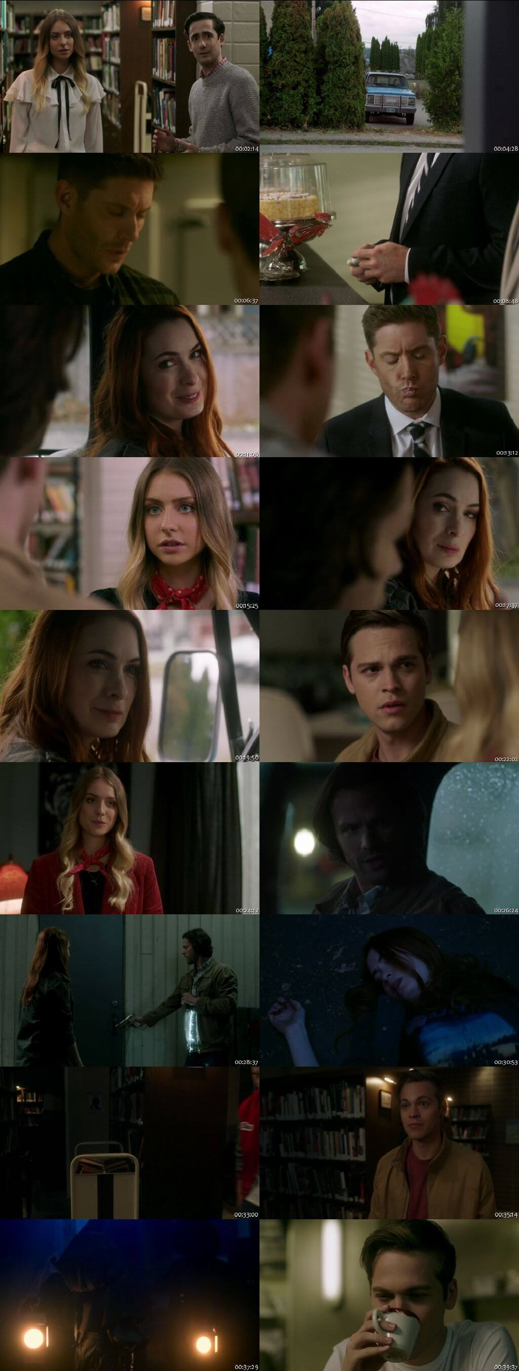 Screenshots Of English Show Supernatural Season 14 Episode 06 2018 WEB-DL 720P 300MB