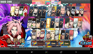 Tutorial Hardcore + Unlocked All Skills Naruto Senki v1.15 Up By Genji Tamvan