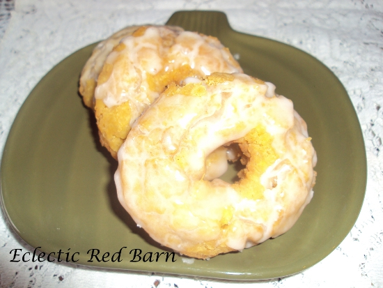 pumpkin dounts, glazed buttermilk dounts
