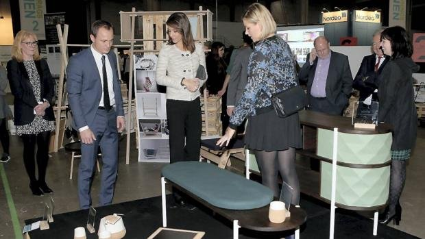H.R.H. Princess Marie of Denmark attended the 4th Edition of Danish Entrepreneurship Award