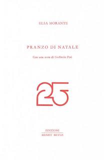 copertina, Pranzo di Natale, di Elsa Morante