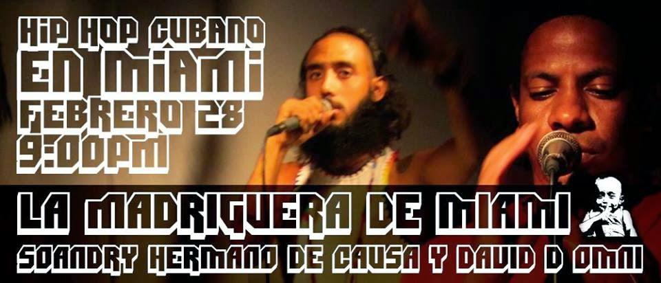Miami: Rap cubano y Free Hop este sábado 28, 9PM