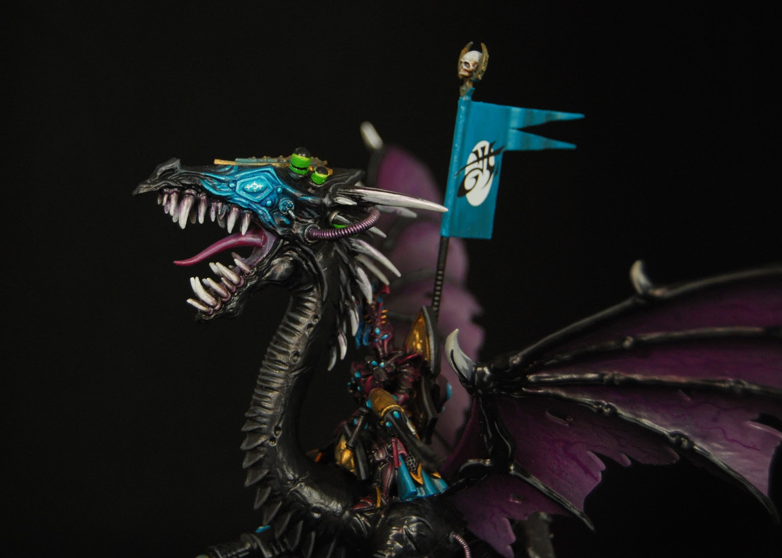 EOE's Dark Eldar Painting Tutorials  DE+Black+Dragon+Painted+04