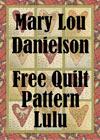 Quilt Pattern - Lulu