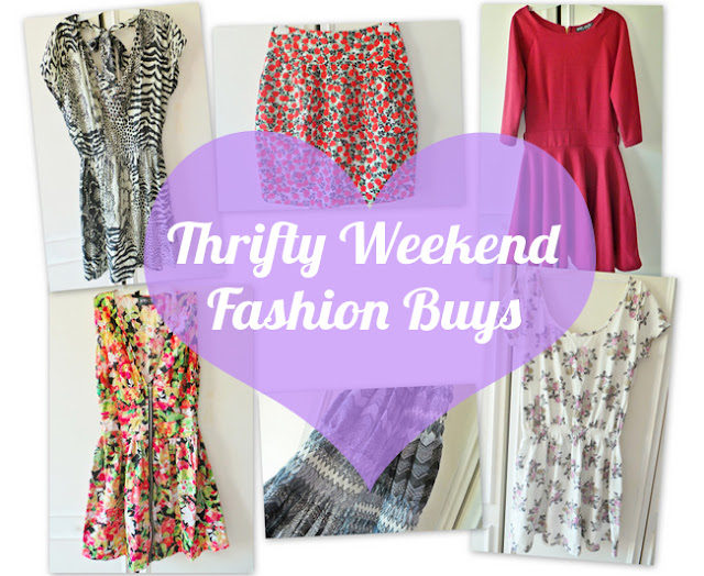 Haul - Thrifty Charity Shop Weekend Fashion Buys