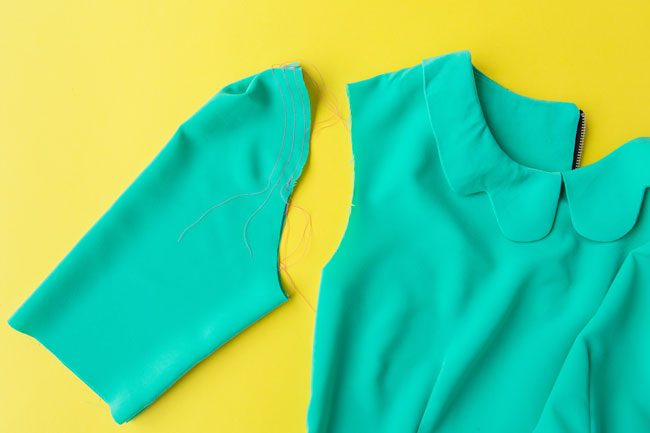 How to Sew the Sleeves - Orla sewing pattern