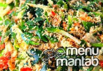 menu mantab - Resep Urap  basah