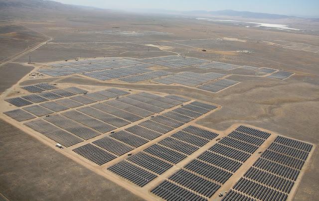 usina fotovoltaica California Valley Solar Ranch